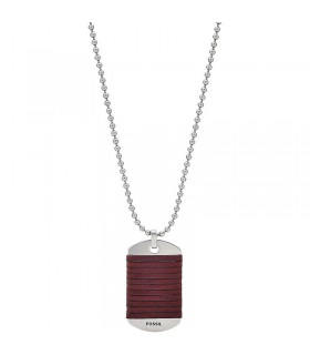 Collar Fossil Vintage Casual  JF03107040 Hombre
