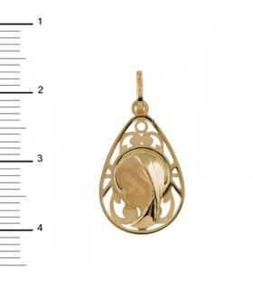 Medalla Virgen Niña Oro 18 K 1-08066-0-8