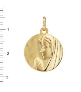 Medalla Virgen Niña Oro 18 K 1-08536-0-8