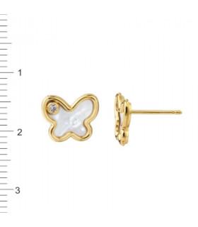 Pendientes Oro 18 K 1-122278-0-1