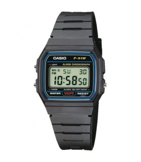 Reloj Casio Collection F-91W-1YEG
