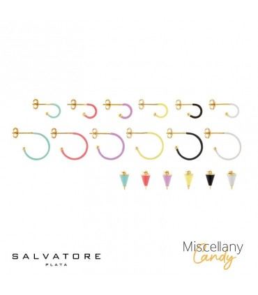 Aros y Charms Miscellany Candy Salvatore Plata